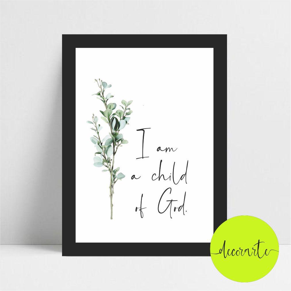I AM A CHILD OF GOD / Eu sou filho de Deus