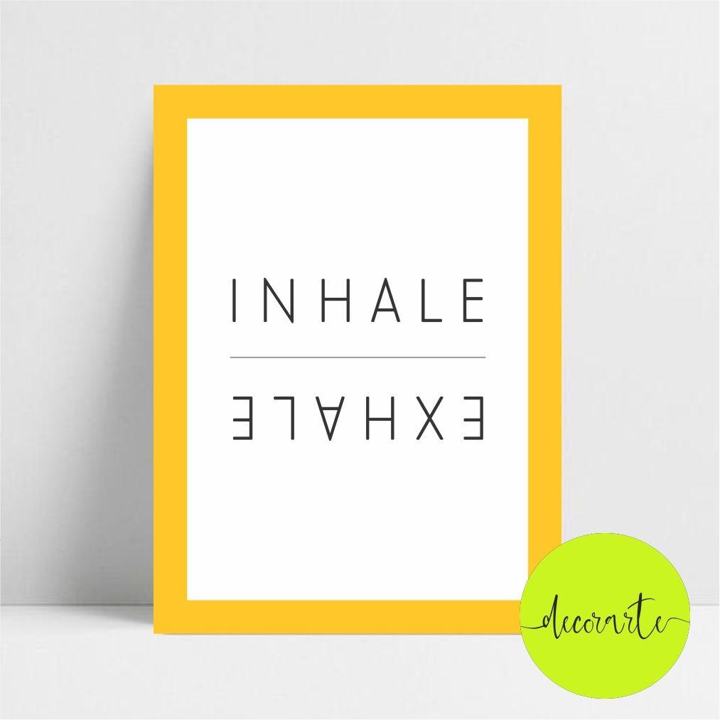 INHALE EXHALE /  Inalar Exalar