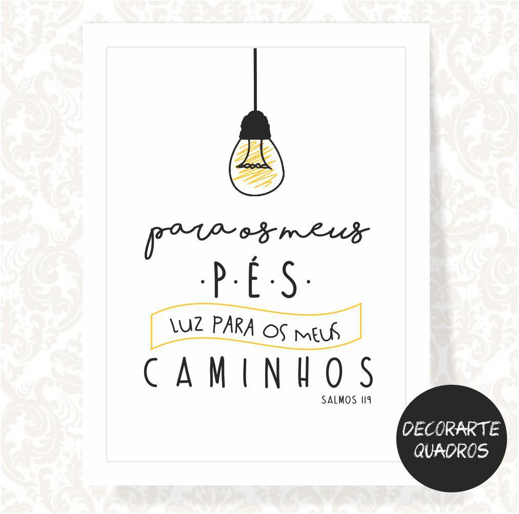 Lâmpada para os meus pés, luz para os meus caminhos - SALMOS 119