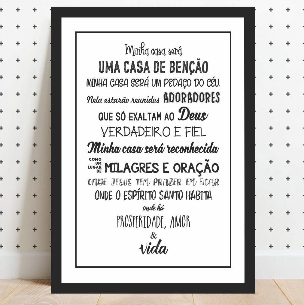 MINHA CASA SERÁ UMA CASA DE BENÇÃOS