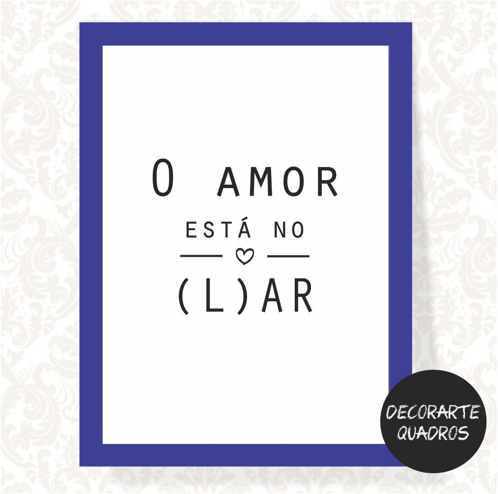 O Amor Está no L(Ar)