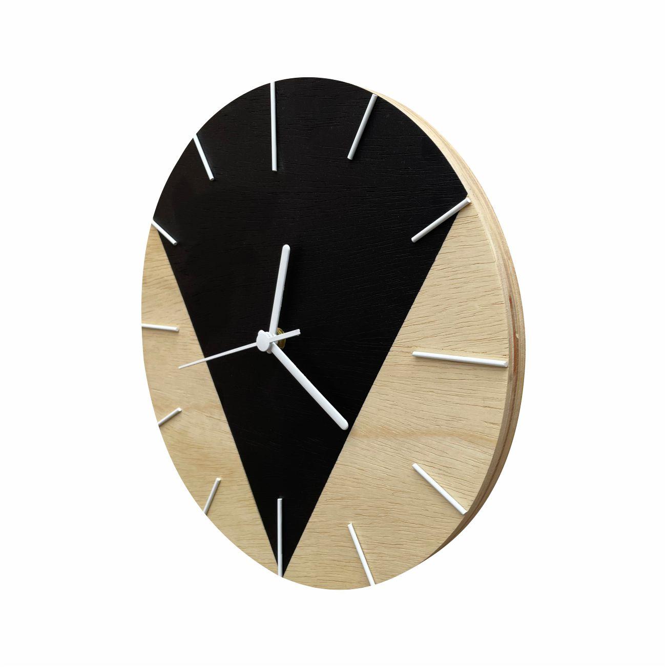 Relógio de Parede Design Triangular - 30cm Night Sky