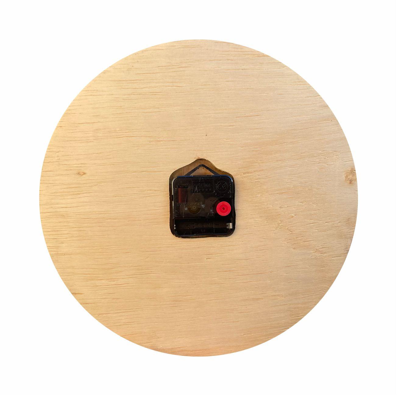Relógio de Parede Design Triangular - 30cm Rose Gold