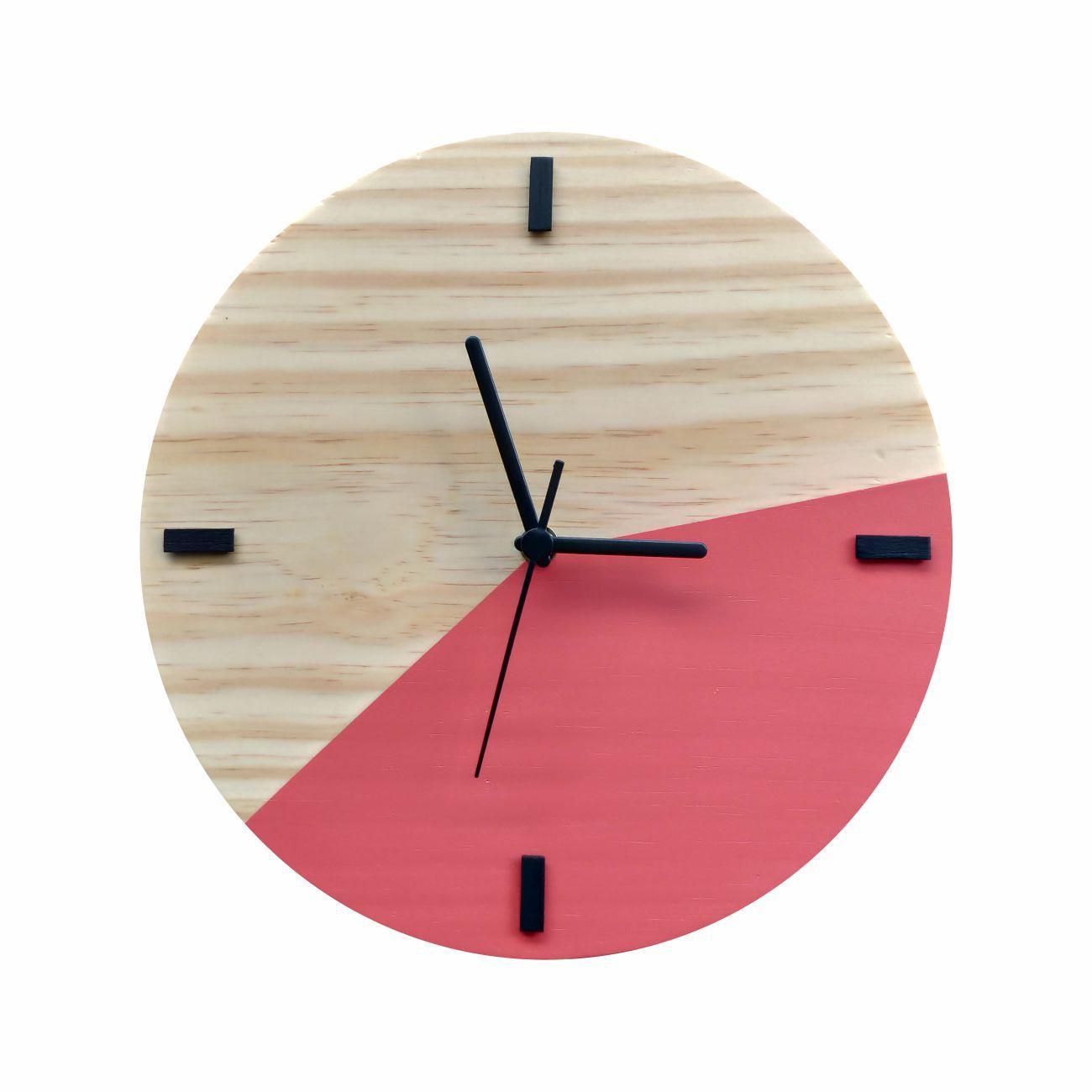 Relógio Escandinavo Duo Goiaba