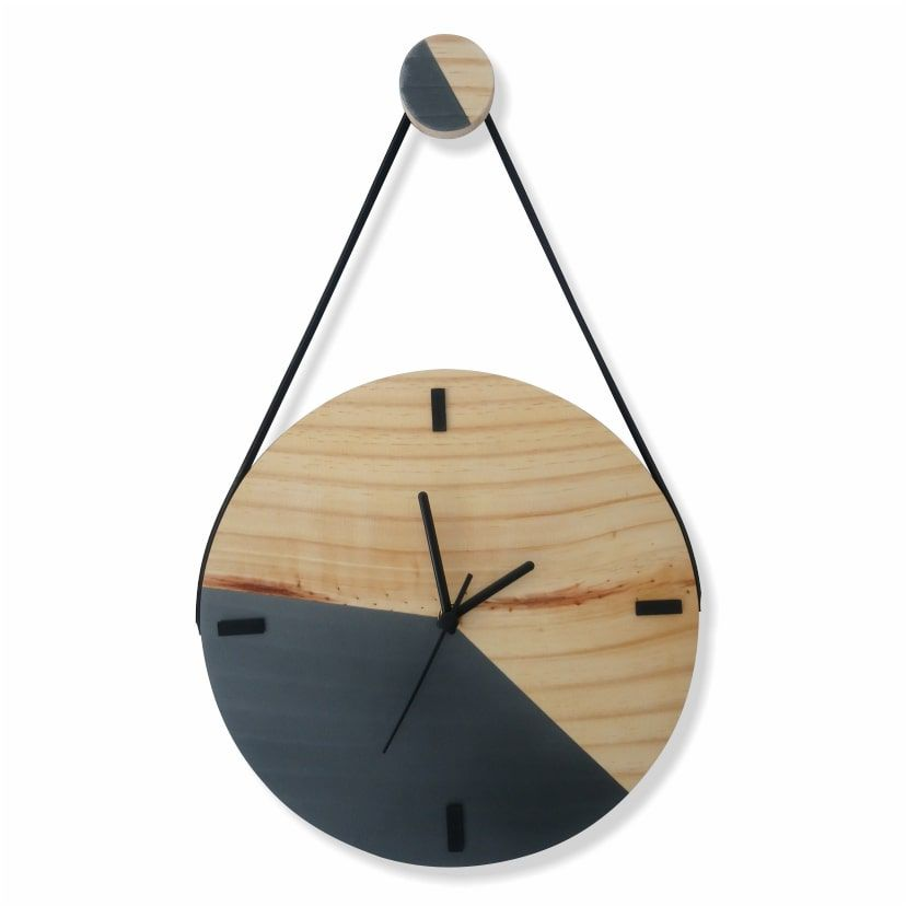 Relógio Escandinavo Duo - GRAFITE