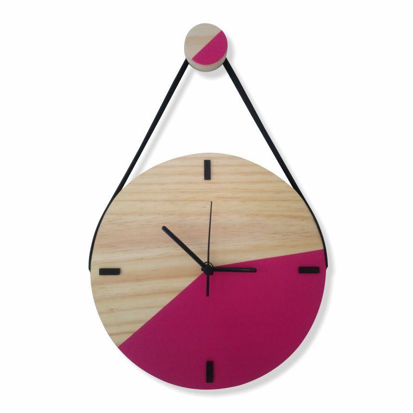 Relógio Escandinavo Duo - MAGENTA