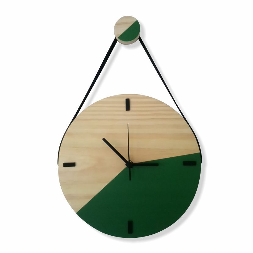 Relógio Escandinavo Duo - VERDE AMAZONAS