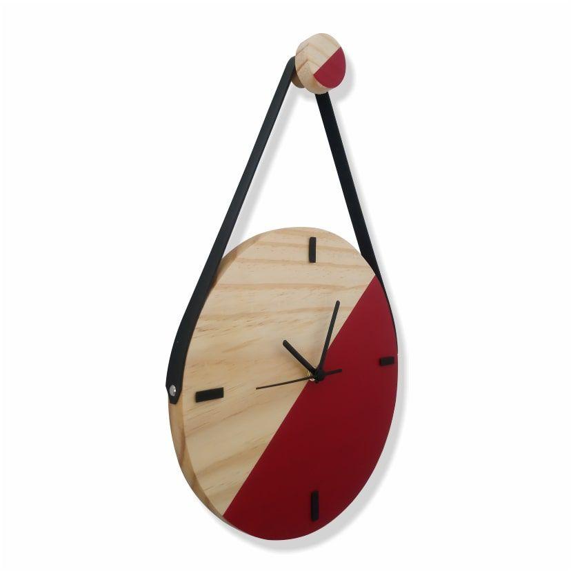 Relógio Escandinavo Duo - VERMELHO FERRARI