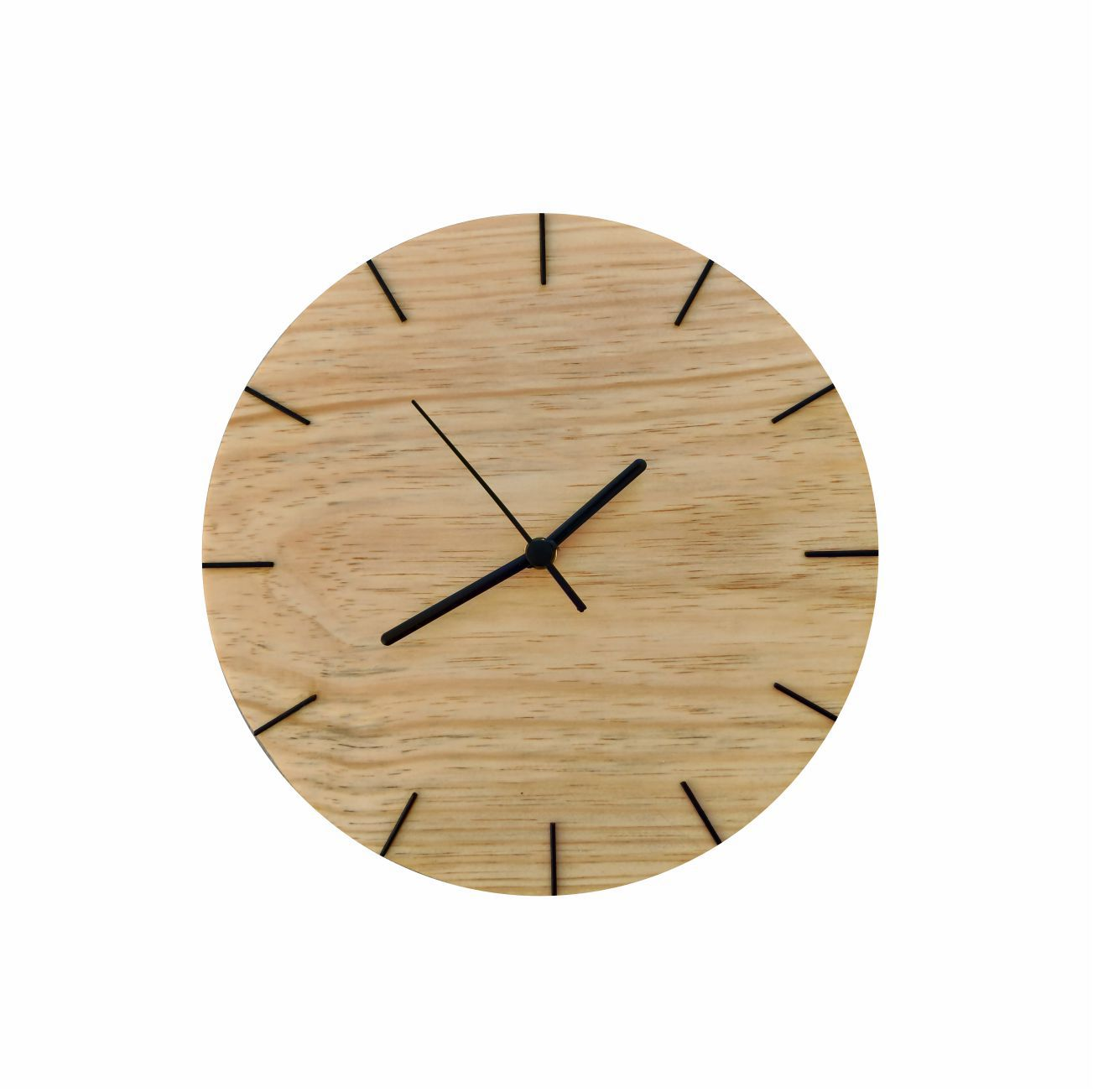 Relógio Minimalista Natural