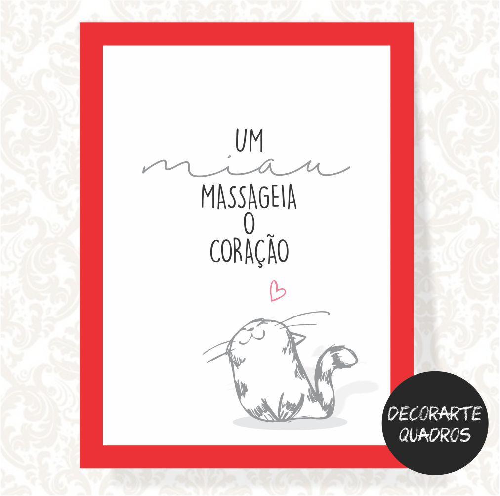 Um Miau Massageia o Coração