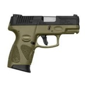 "Pistola Taurus G2C 9mm 3"" 12+1 - OD GREEN"