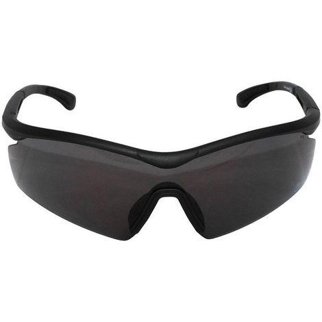 Óculos de Proteção Preto com Lente Fumê AVB - T8850A-BK-FUME