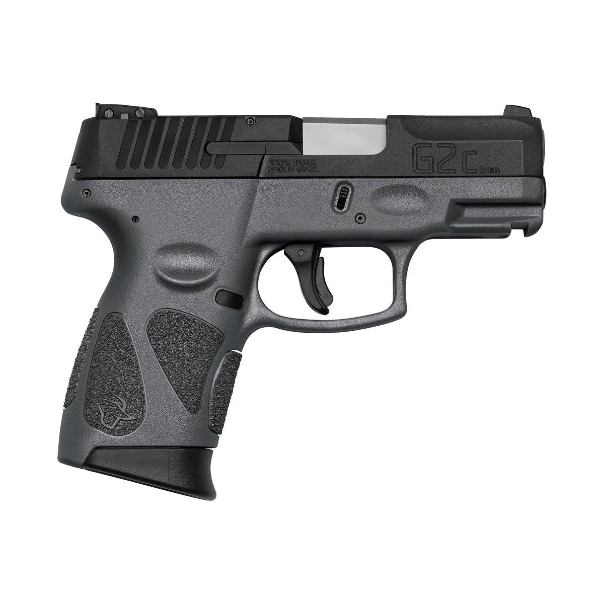 """Pistola Taurus G2C 9mm 3"""" 12+1 - CINZA"""