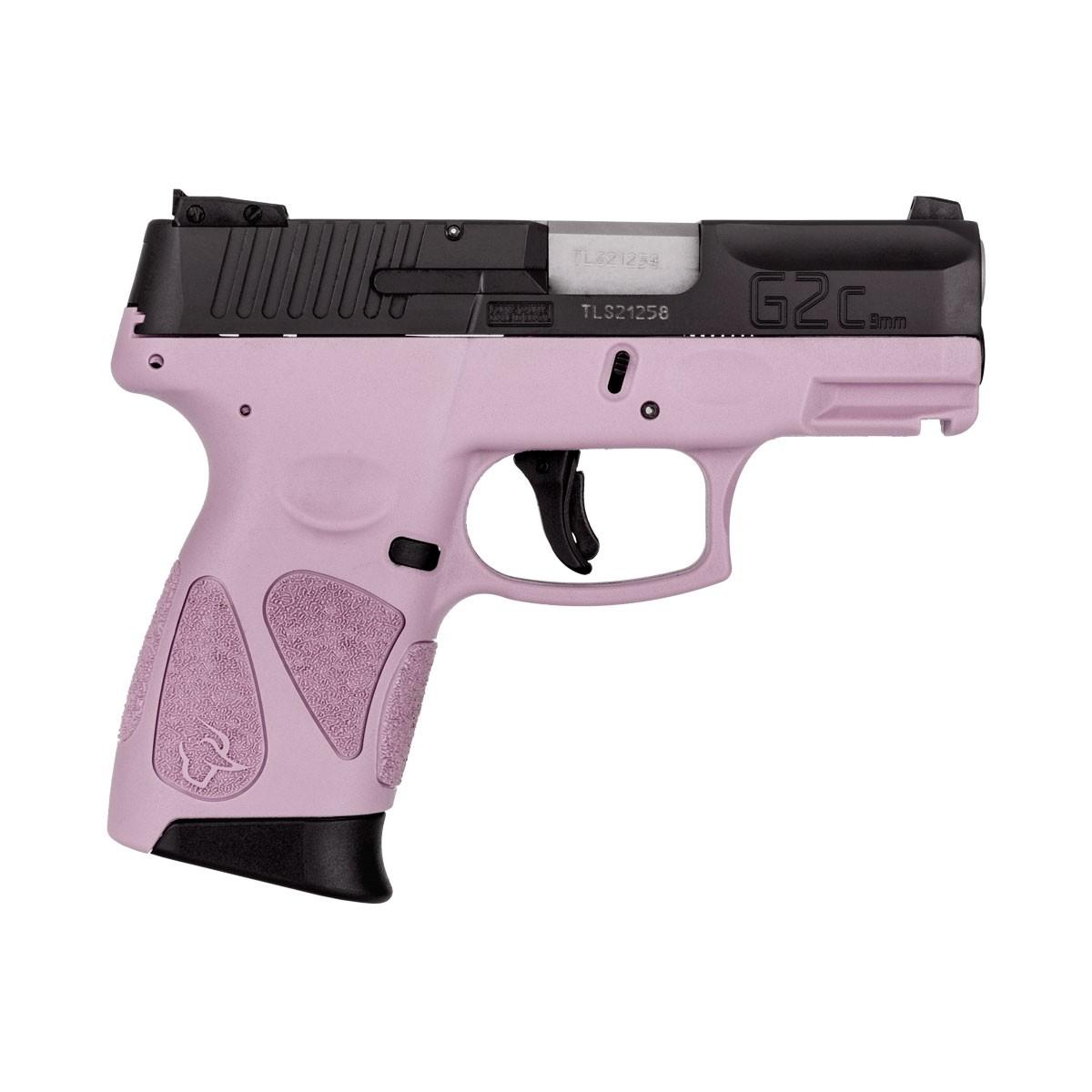 """Pistola Taurus G2C 9mm 3"""" 12+1 - LIGHT PURPLE"""