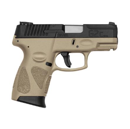 """Pistola Taurus G2C 9mm 3"""" 12+1 - TAN"""