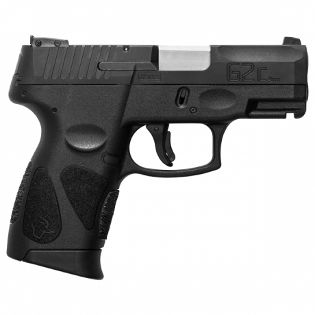 "Pistola Taurus G2C 9mm 3"" 12+1 - Carbono Fosco"