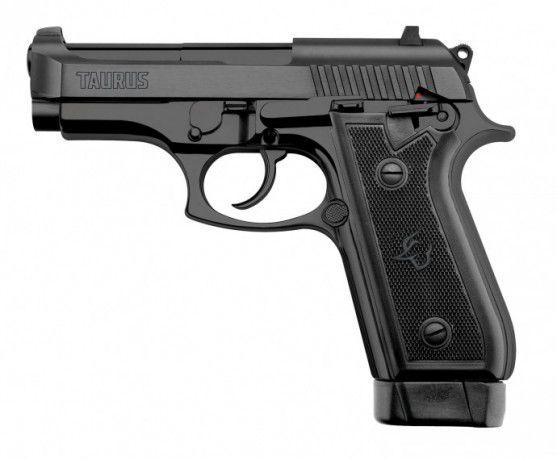 Pistola Taurus PT58 HC Plus - Cal 380 19 tiros- Oxidada Fosco