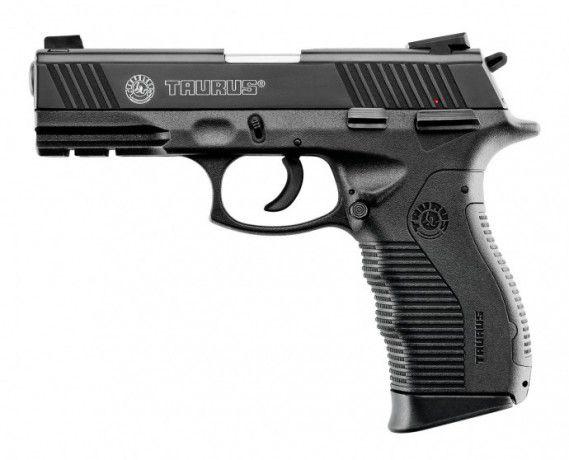 "Pistola Taurus PT 845 Cal .45 ACP 4"" 12+1 - Carbono Tenox"