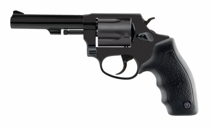 """Revolver Taurus RT85 Cal.38 4"""" Cabo de Borracha - 5 Tiros - Oxidado"""