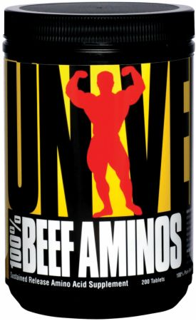 100% Beef Aminos 200tabs Universal