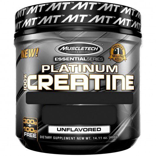 Platinum 100% Creatine 400g MuscleTech