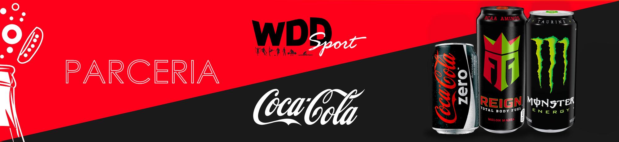 Os melhores produtos da Coca Cola na WDD Sport