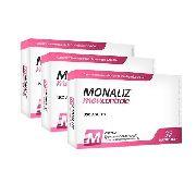 Kit Monaliz Meu Controle - Sanibras - 3 Unidades