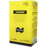 Albumina Pasteurizada Resfriada 1Kg  Naturovos