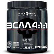 BCAA 4:1:1 Caveira Preta 280g Black Skull