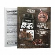 Best Whey Sachê Double Chocolate 35g Atlhetica
