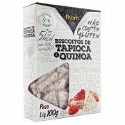Biscoito de Tapioca com Quinoa 100g Fhom Alimentos
