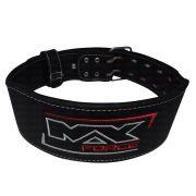 Cinturão Dura Body Em Couro Natural Max Force
