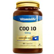 COQ10 Coenzyme 50mg 60caps Vitaminlife