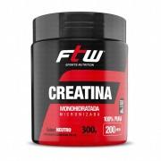 Creatina Monohidratada 300g FTW Sports Nutrition