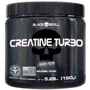 Creatine Turbo Caveira Preta 150g Black Skull
