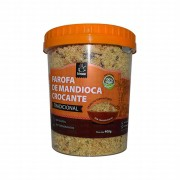 Farofa de Mandioca Crocante Gourmet Tradicional 400g Artezana
