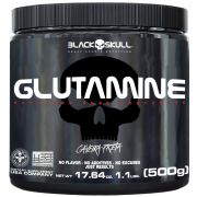 Glutamine Caveira Preta 500g Black Skull