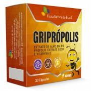 Griprópolis 400mg 30 caps Flora Nativa do Brasil