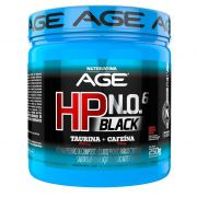 Pré Treino HP Black NO6 250g Nutrilatina AGE