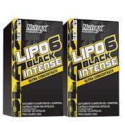 Kit 2 Lipo 6 Black Intense 120 Caps Nutrex