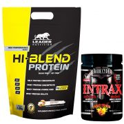 Kit Hi-Blend Protein 1,8kg Leader Nutrition + BCAA Intrax 450g Dark Cyde