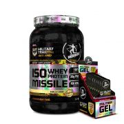 Kit Iso Missile 930g + Military Gel 3 Cx c/ 10 un de 32g Midway