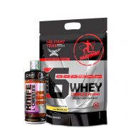 Kit L-Carnitine 245ml + War 6 Whey Complex Protein 907g Midway