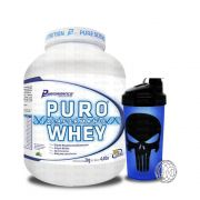 Kit Puro Whey 2kg Performance + Coqueteleira WDD