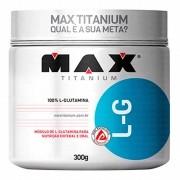 L-Glutamina 300g Max Titanium