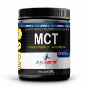 MCT Low Carb 200g Sports Nutrition