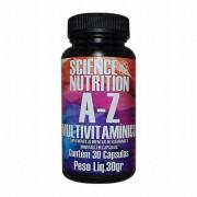 Multivitamínico A-Z 30 caps Science Nutrition