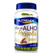Óleo de alho + Própolis 250mg 60 caps  Nutrends