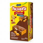 Paçoquita de Chocolate com Cobertura Cx c/ 24un de 18g Santa Helena