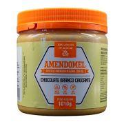 Pasta de Amendoim Integral Amendomel - Chocolate Branco Crocante 1kg Thiani
